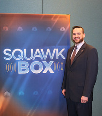 Rep. Davis appeared on CBNC's Squawk Box to discuss Connecticut's tax policy and capital gains taxes.