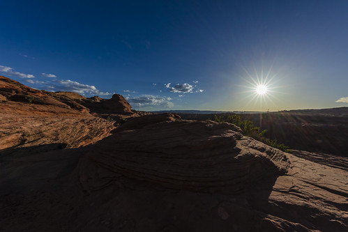 canon5dsr landscape sun sunstar sky blue redrock nature outdoors outside usa arizona