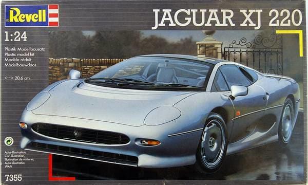 *Montage pas-à-pas* Jaguar XJ 220 [Revell 1/24] 33994061378_4e2b79816c_o