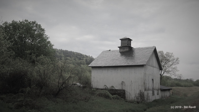 Barn by the side of the road