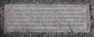 Ralph Scrivener, 1 May 1605