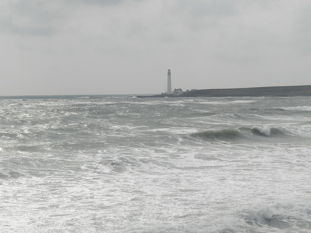 Scrudie Ness Lighthouse, Montrose Bay, April 2019