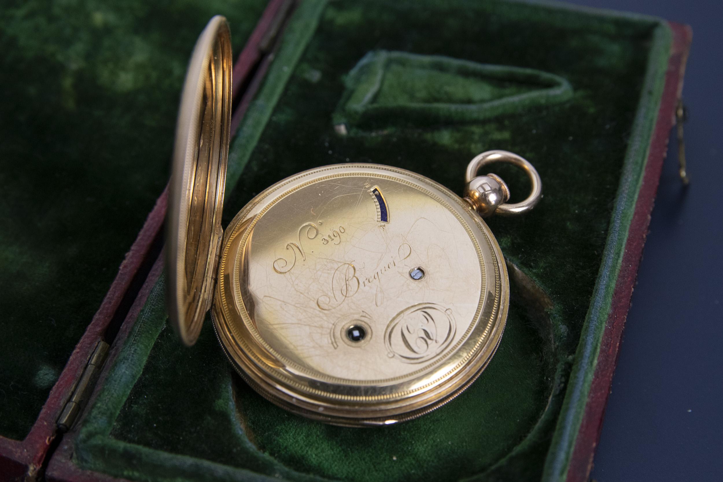 Breguet N°3190, vendue en 1819 au Baron de Vietinghoff 33997282418_f53fcb1e0c_o