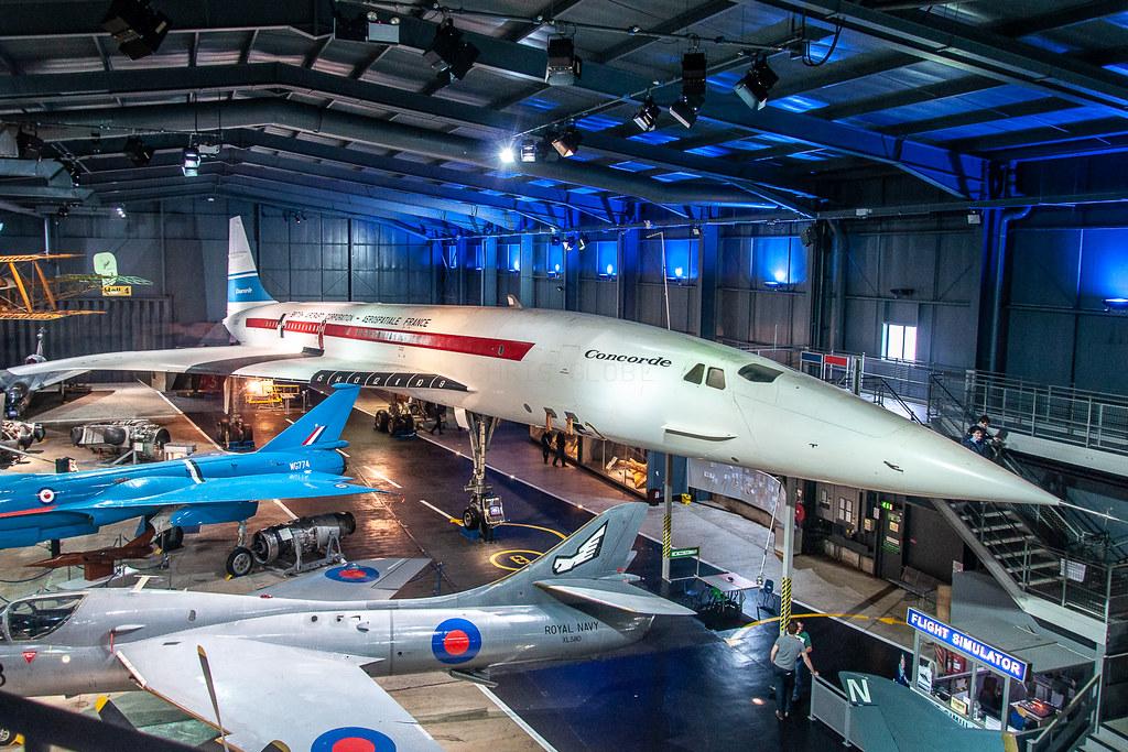 G-BSST   Aerospatiale/BAe Concorde   Fleet Air Arm Museum