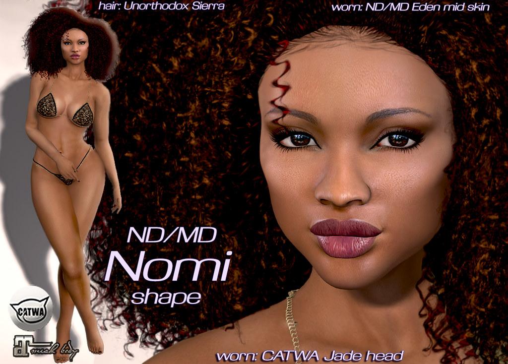 Nomi shape Jade head ventor - TeleportHub.com Live!