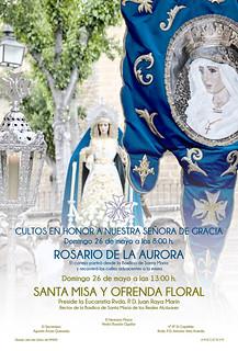 Cartel Rosario de la Aurora 2019