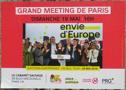 Grand meeting de Paris - Envie d'Europe