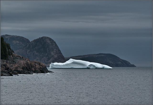 Batmobile masquerading as iceberg