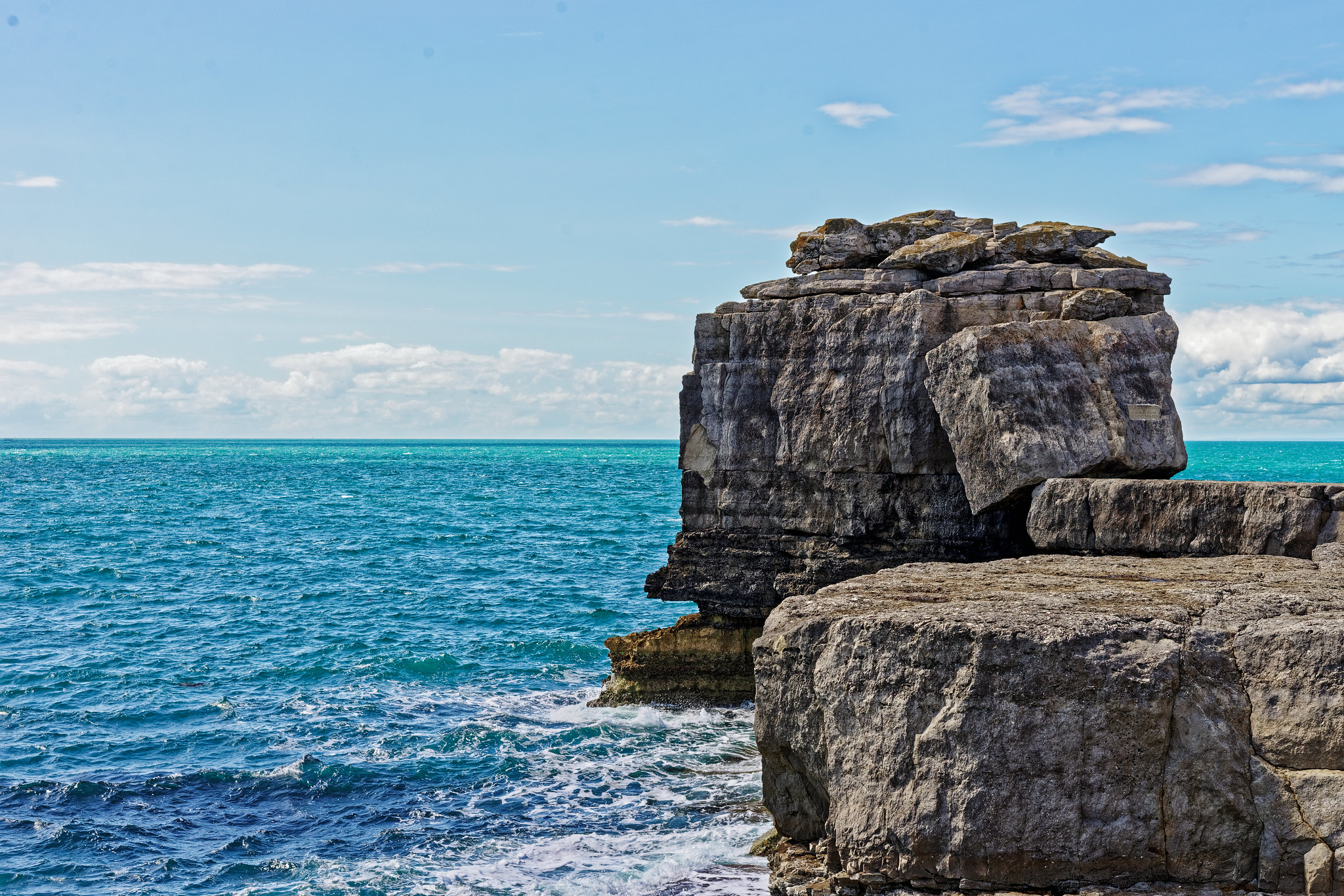 Pulpit Rock At Portland Bill Lighthouse