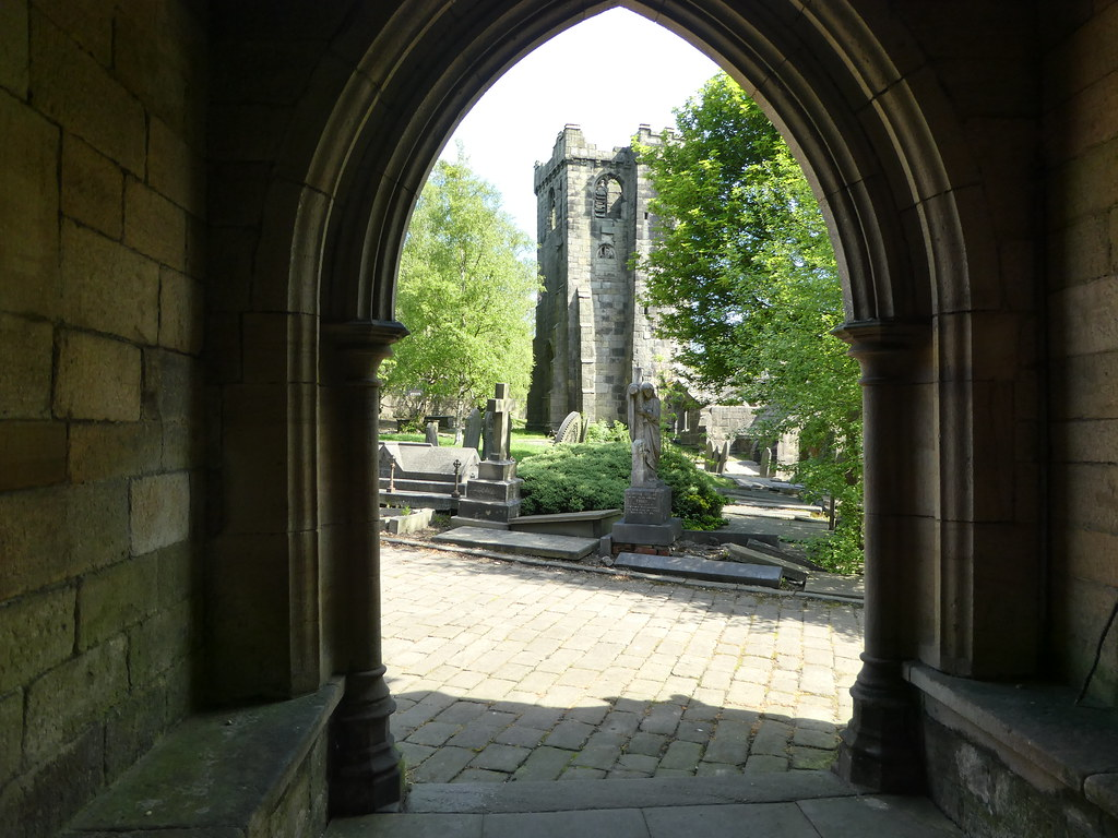 Heptonstall church