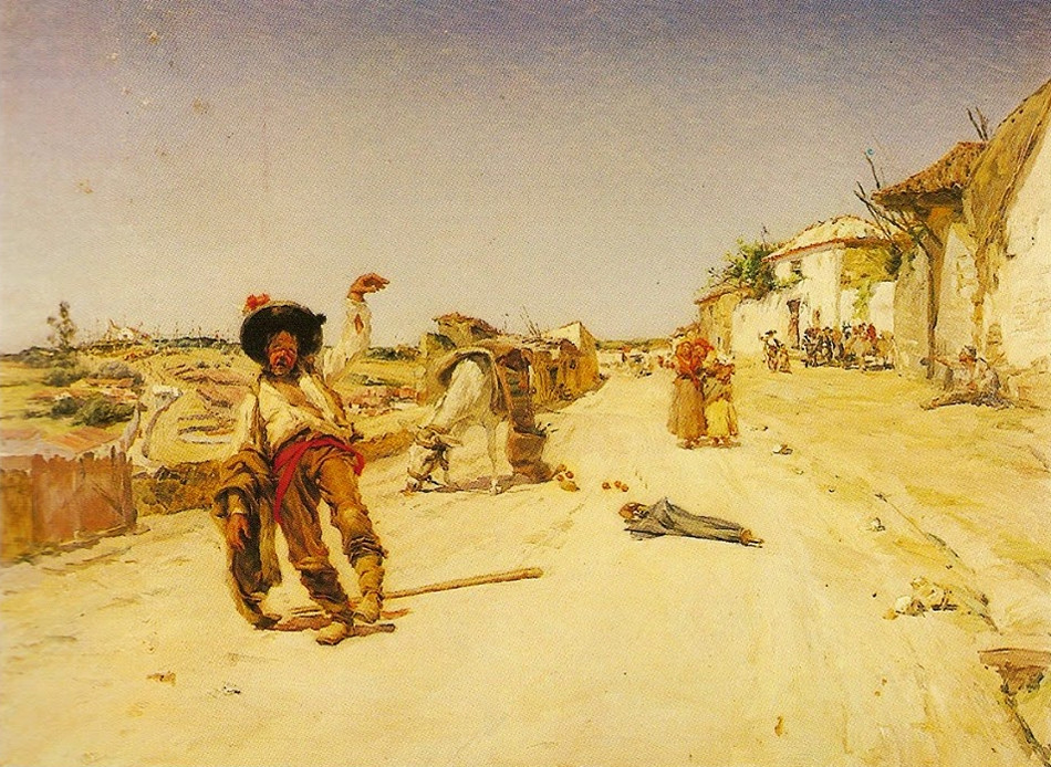 Malhoa, «A volta da romaria» (óleo s/ tela, 1901)