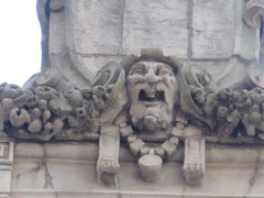 New Amsterdam Theatre Window Gargoyle 8455