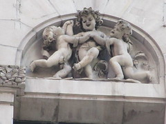 New Amsterdam Theatre Putti Dancing Gargoyles 8453