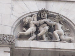New Amsterdam Theatre Putti Dancing Gargoyles 8451