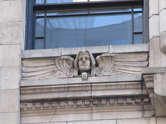 New Amsterdam Under Window Winged Gargoyle 8441