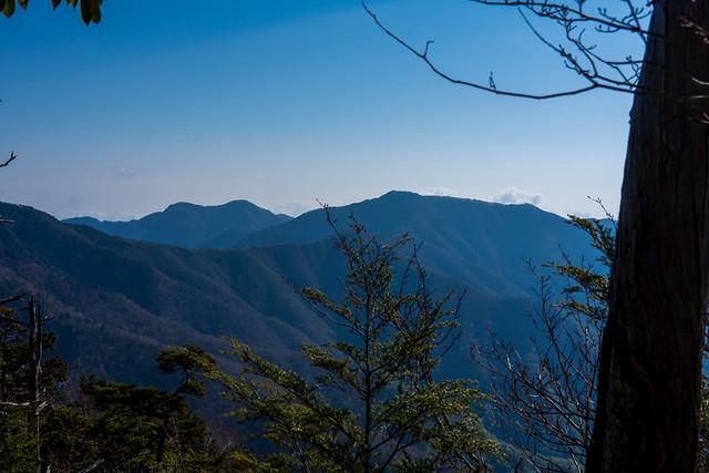 木々間より・・雲取山