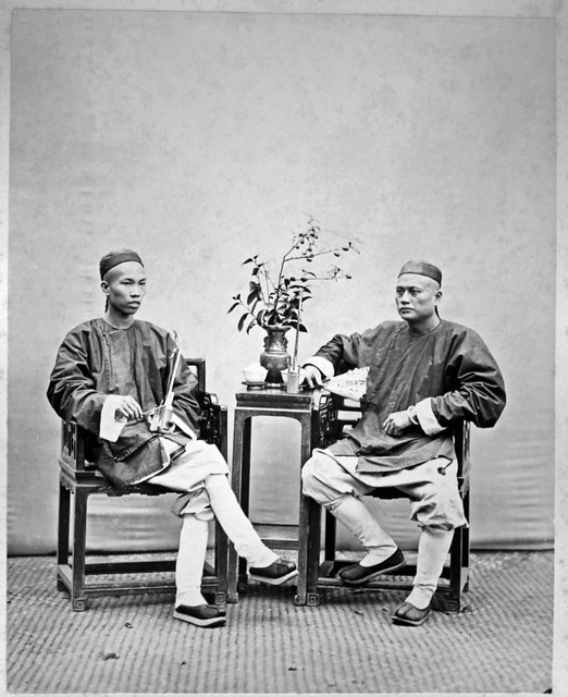 Hotz collection: Two Friends, ca. 1870