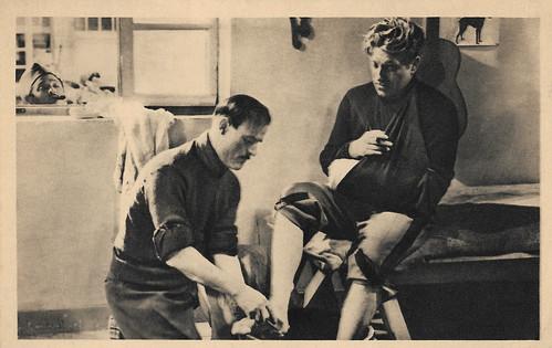Marcel Dalio, Gaston Modot and Jean Gabin in La Grande Illusion (1937)