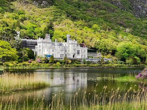 abbey kylemore conemara eire irland irelande west conaught connemara chateau castle