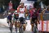 Lotto Soudal Cycling Team posted a photo:Giro d'Italia 2019 - 102th Edition - 8th stage Tortoreto Lido - Pesaro 239 km - 18/05/2019 - Caleb Ewan (AUS - Lotto Soudal) - Elia Viviani (ITA - Deceuninck - Quick Step) - Pascal Ackermann (GER - Bora - Hansgrohe) - photo Luca Bettini/BettiniPhoto©2019 ! only BELGIUM !