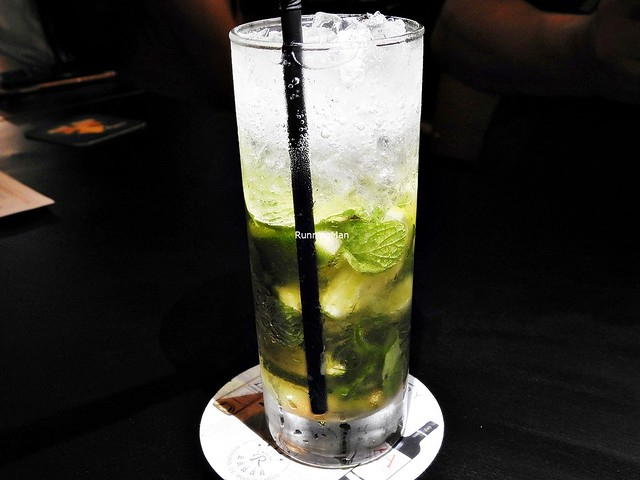Cocktail Elderflower Mojito