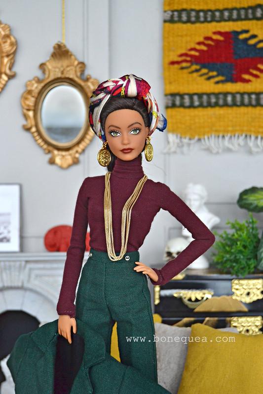Sacándole partido a mi última pared. Ooak Barbie, The Dress & Victoria Barbie Designs.