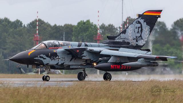 German Airforce Panavia Tornado IDS 43-25