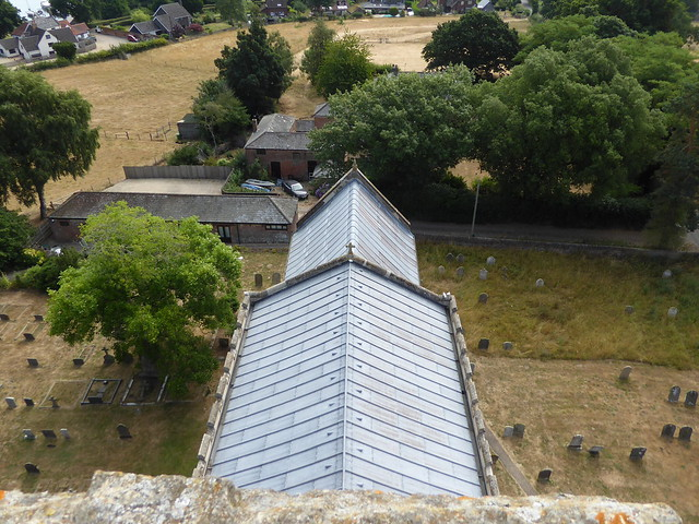 View from Tower, Ranworth