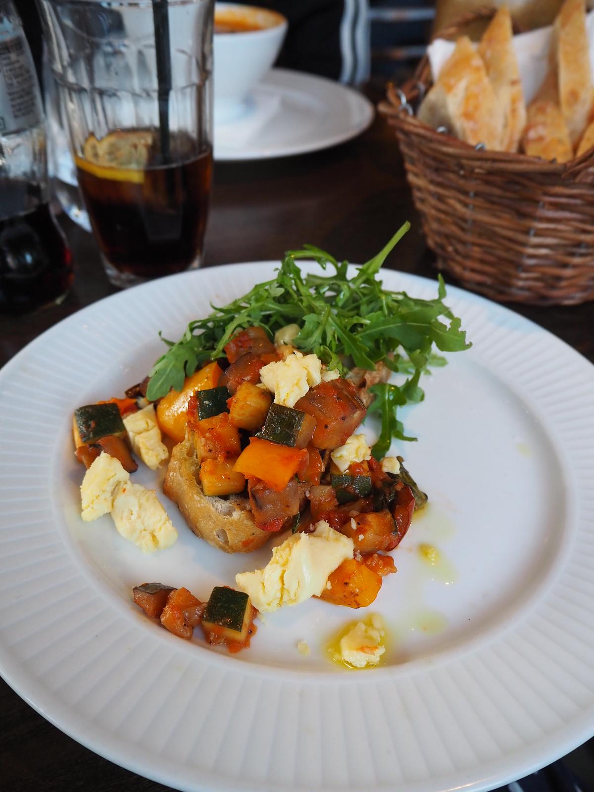 cote brasserie vegan menu 1
