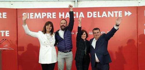 Carmen Calvo en Donostia