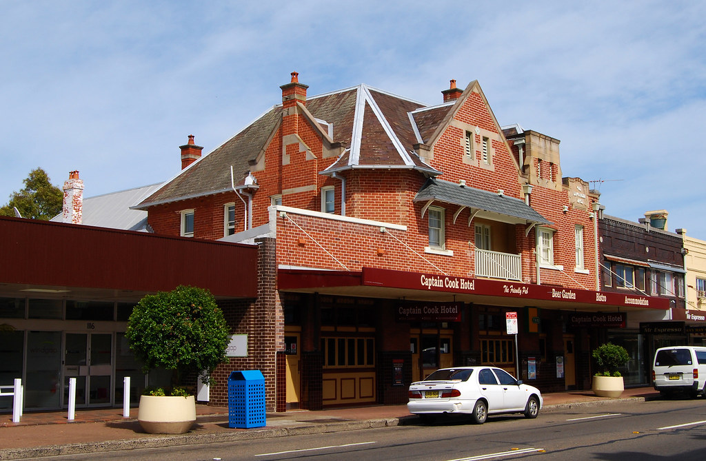 Captain Cook Hotel, Botany, Sydney, NSW