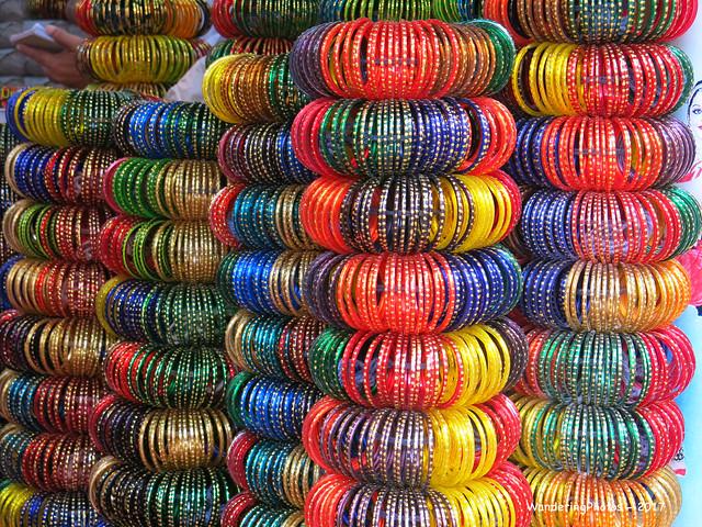Bangles Galore - Meenakshi Amman Temple - Madurai Tamil Nadu India