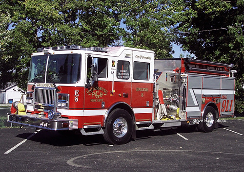 2007 Seagrave Engine 8 Greensburg Indiana Greensburg