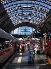 Frankfurt Hbf 🚄☀️