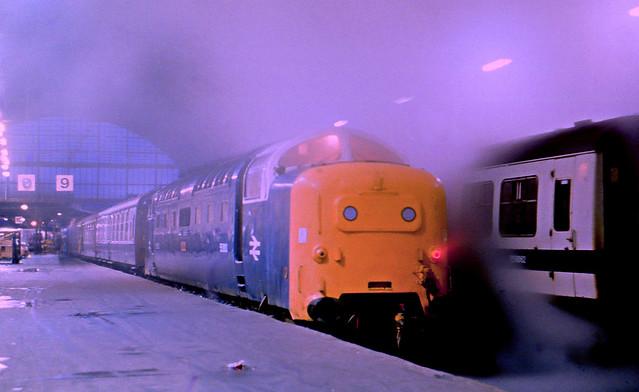 Class 55 Deltic 55003 Hull 17/8/79