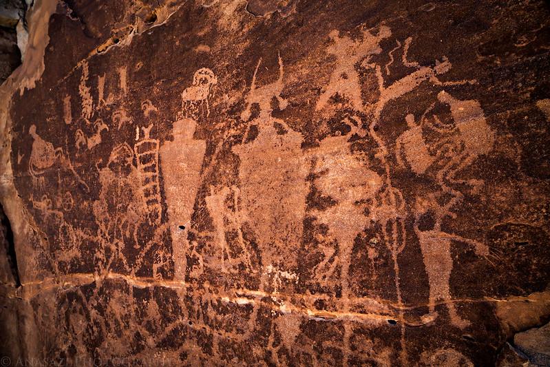 Mussentuchit Petroglyphs