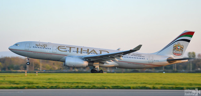 Etihad Airways 🇦🇪️ Airbus A330-200 A6-EYL