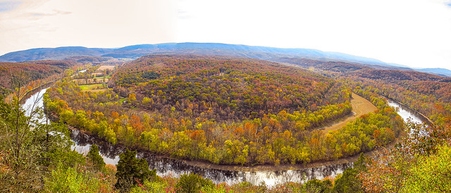 Panoramic view of the Potomac River