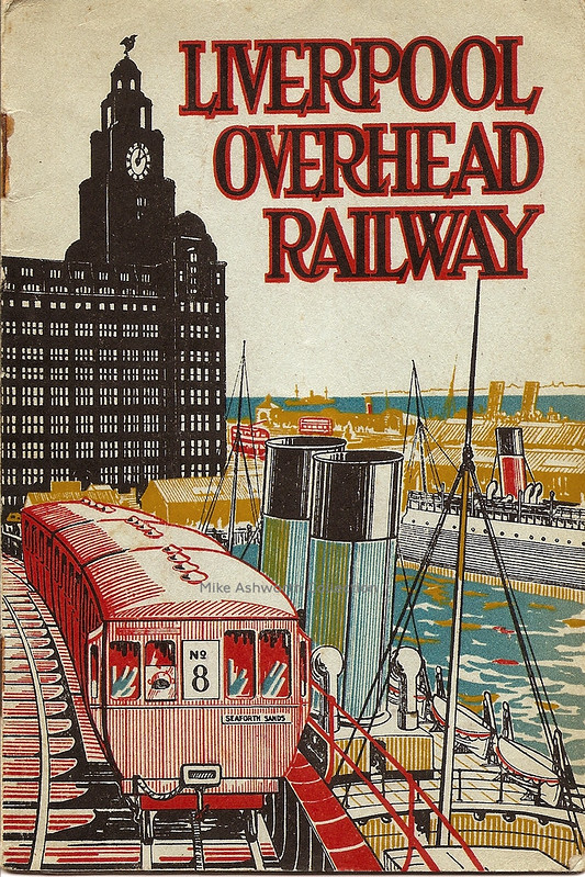 LIverpool Overhead Railway guide, c1935