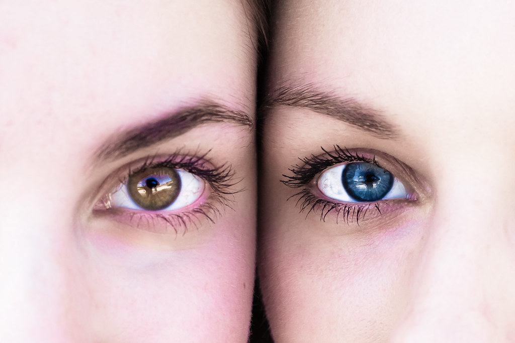 Sisters eyes