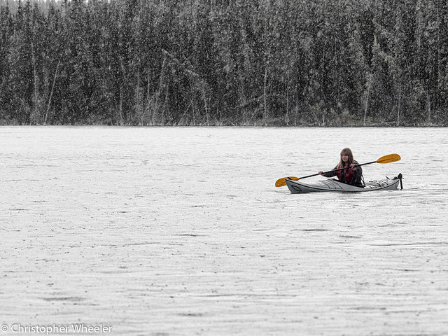 Paddle in the Rain - 183/365 - 2017