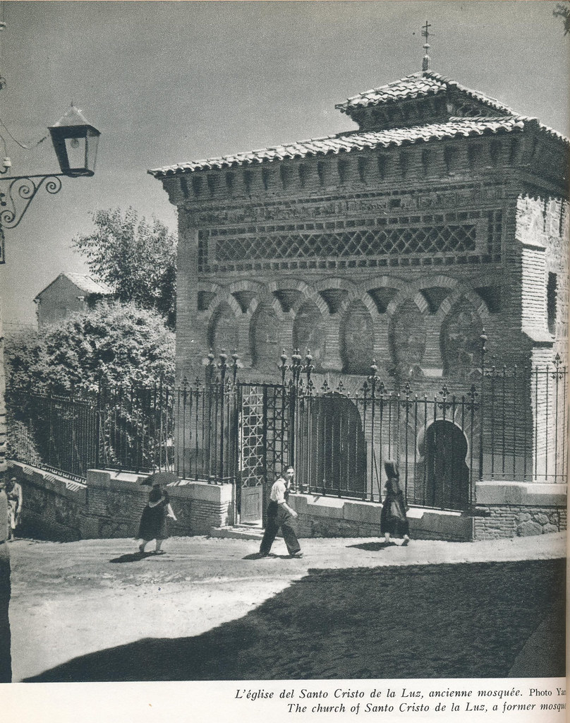 """Mezquita del Cristo de la Luz en los años 50. Publicada en un Libro de Víctor Crastre. Foto de Jean Dieuzaide  """"Yan"""""""