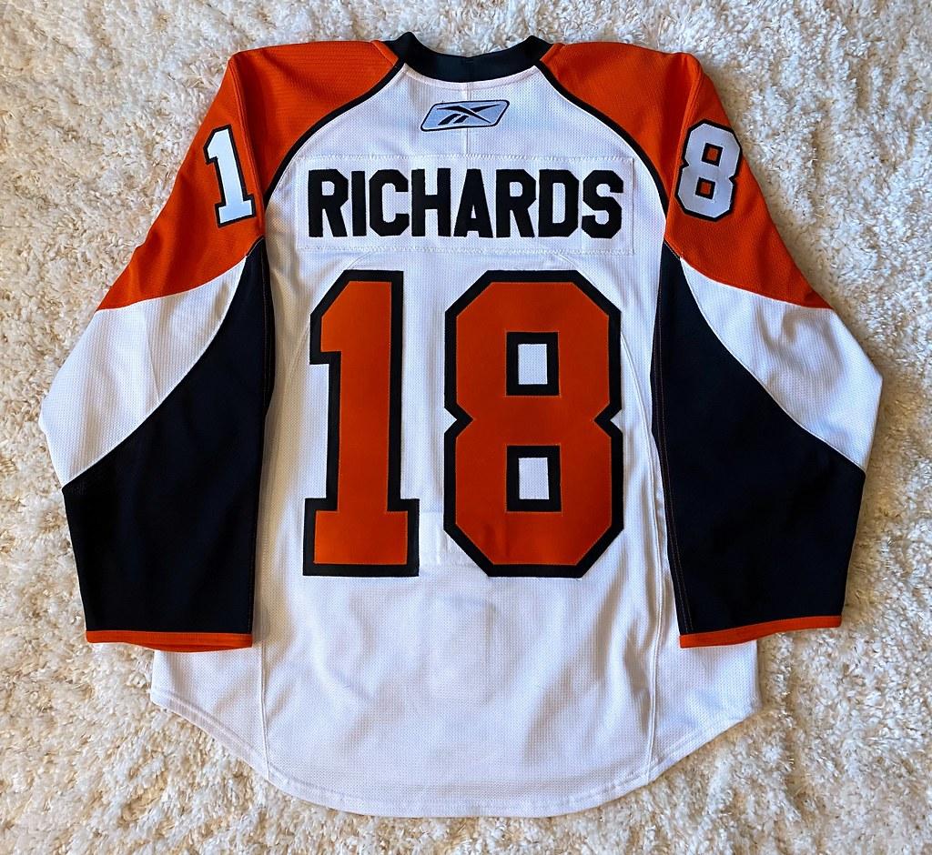 2009-10 Mike Richards SCF (Back)