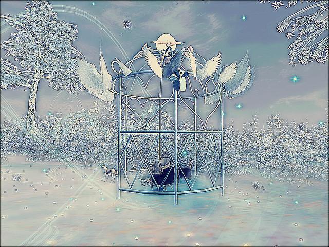 LEA1 - Mystics, Myths and Elements of Nature - Winged Princess Gazebo