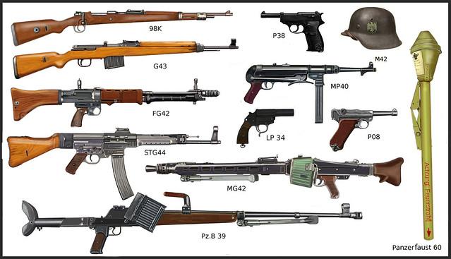 ww2 German individual weapon