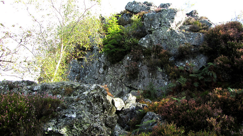 Ausewell Rocks - middle outcrop