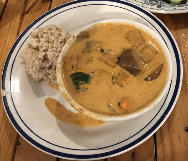 South Austin: Dinner at Thai Fresh - Kaeng Ped (Red Curry)