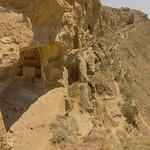 David Gareja monastery cave in cliff side
