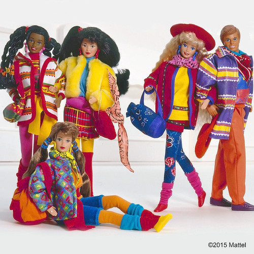 Barbie Benetton Collection (Mattel pic)