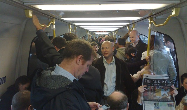 Just another crowded train